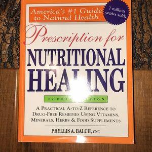Nutritional Healing Book